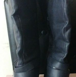 Navy Fall Just Fab Boots